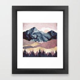 Mauve Vista Framed Art Print