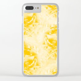 Yellow Peonies Dream #1 #floral #decor #art #society6 Clear iPhone Case