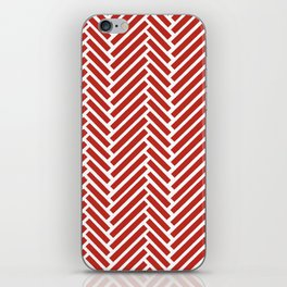 Herringbone Candy iPhone Skin