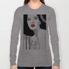 Woman hair Long Sleeve T-shirt