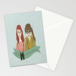 Suzy and Sam Together Stationery Cards