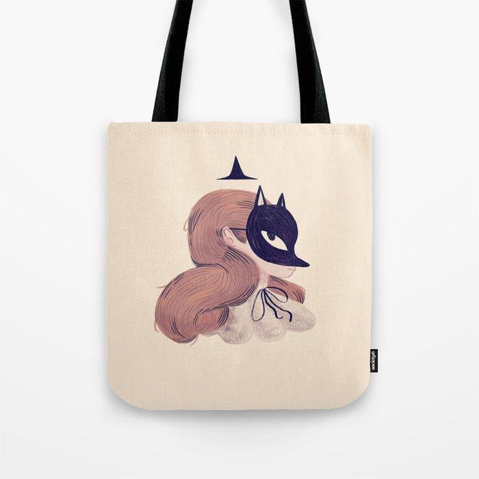 Fox Face Tote Bag