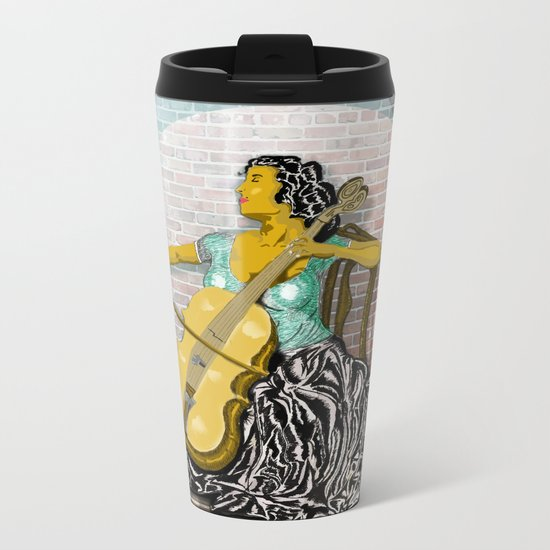 Mariah Metal Travel Mug