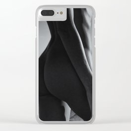 0837B Sandy Dune Nude   Torso Clear iPhone Case
