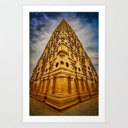 Wat Wang Wiwekaram Art Print