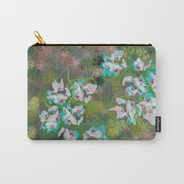 Pastel Orchids design Carry-All Pouch