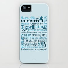 Harry Potter - All Quotes  iPhone (5, 5s) Slim Case