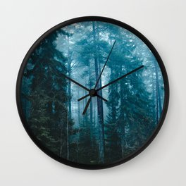 Hard roads ahead Wall Clock