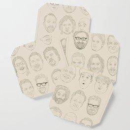 36 Funny People Coaster