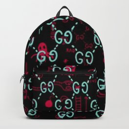 Gees - Two Gees - G G Print Color Ambition Backpack