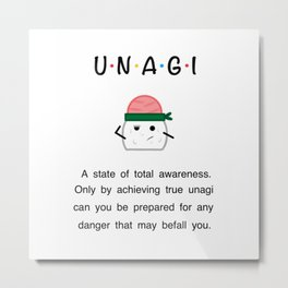 Friends - Unagi Metal Print