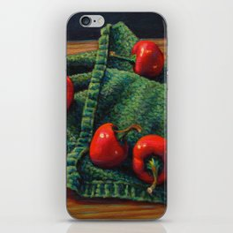 Peppers iPhone Skin
