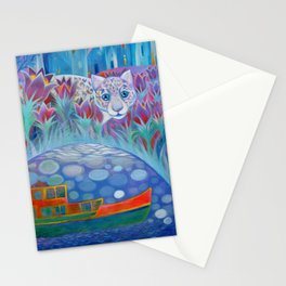 Pasqueflowers Stationery Cards