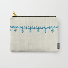 Snowflake Garland Pyrex Stack Carry-All Pouch
