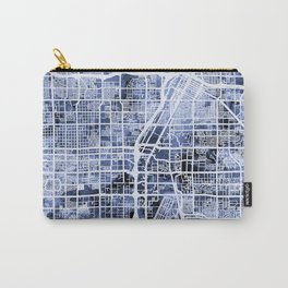 Las Vegas City Street Map Carry-All Pouch