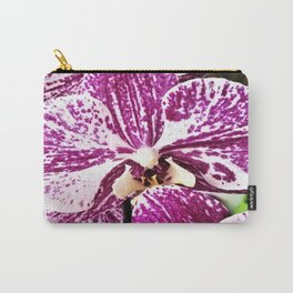 purple orchidee Carry-All Pouch
