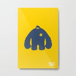 Bigfoot Logo Metal Print