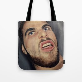 self portrait, annoyance and disgust Tote Bag