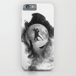 Dancing over our hands. iPhone Case
