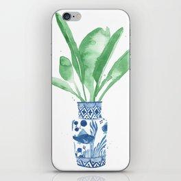Ginger Jar + Bird of Paradise iPhone Skin