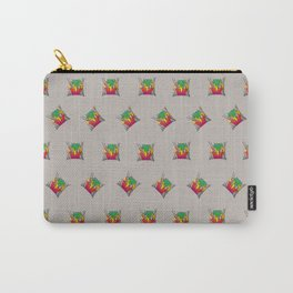SHRIEK PATTERN Carry-All Pouch