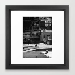 Seriously dude - where's the car. (South Yarra, 2013) Framed Art Print
