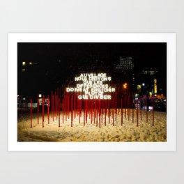 Montreal Art Print