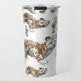 Totem Andean cat (AGA) Travel Mug
