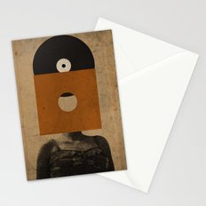 VINYL RECORD HEAD Stationery Cards