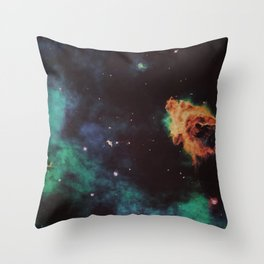 The Stuff We're All Made Of Throw Pillow