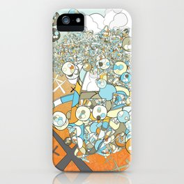 Nested Composition 3 iPhone Case
