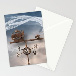 Bon Voyage!  Stationery Cards