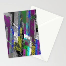 Textured Exclusion II Stationery Cards
