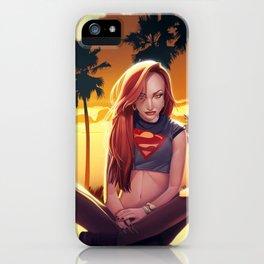 I'm a Supergirl! iPhone Case