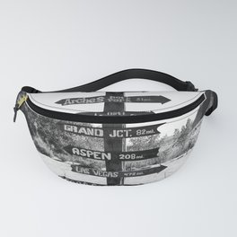 Signs Fanny Pack