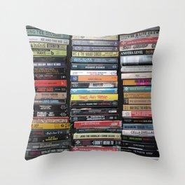 Hip-Hop Cassingles Throw Pillow