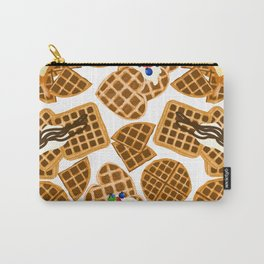 Waffle On Carry-All Pouch
