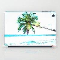 cuba iPad Cases featuring Cuba , Playa  ( Cuba , beach ) by arnedayan