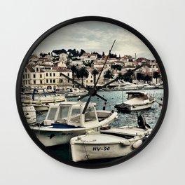 Hvar Island Wall Clock