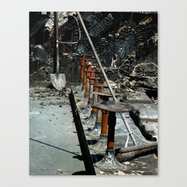 Burned Out Canvas Print