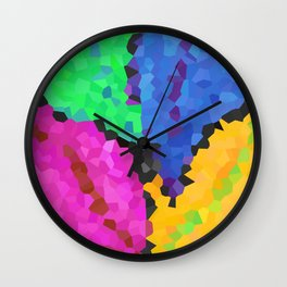 Four leaves Wall Clock