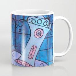 hair dryer jelly fish Coffee Mug