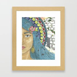 Martha of Bethany Framed Art Print