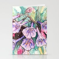 virginia Stationery Cards featuring virginia bluebells by Beth Jorgensen