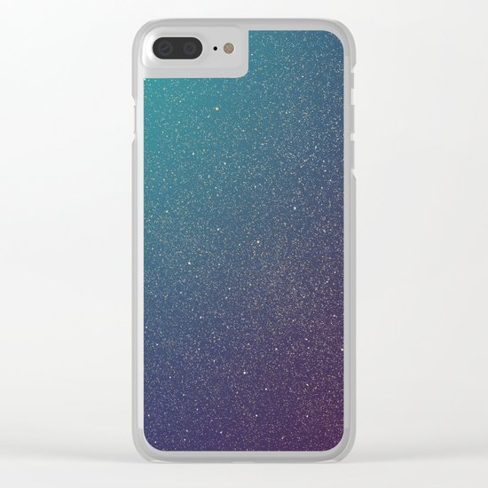 Space 01 Clear iPhone Case