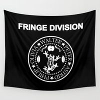 fringe Wall Tapestries featuring Fringe Division I wanna be sedated by Ant Atomic