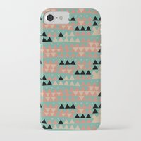 triangles iPhone & iPod Cases featuring triangles by spinL