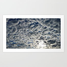 A Perforated Sky Art Print