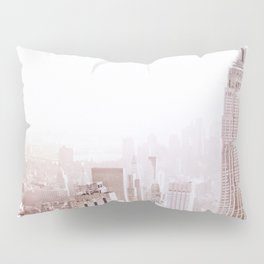 New York City Late Afternoon Pillow Sham