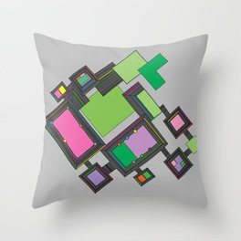 Venezia Panels Throw Pillow